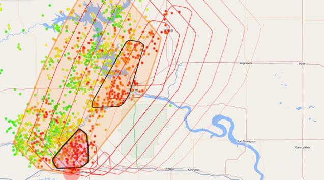 nowcast-lightning-detection-LINET-data