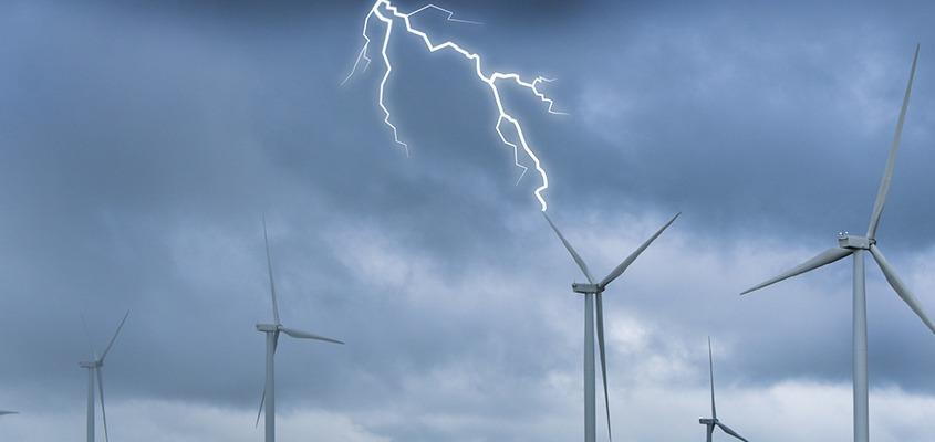 Wind park image